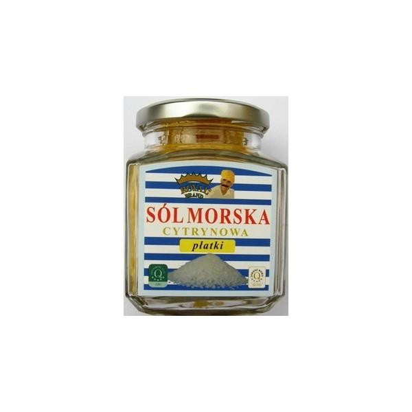 Sól morska cypryjska cytrynowa 120 g