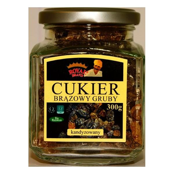 Cukier kandyzowany brązowy gruby 210 g