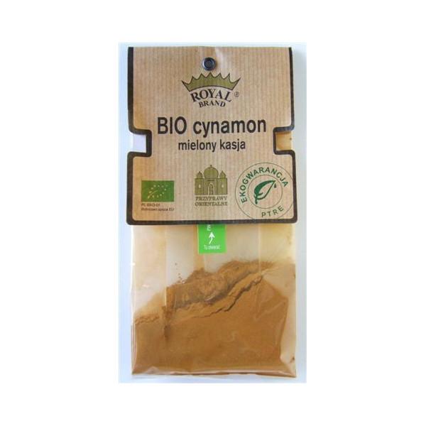 Cynamon mielony kasja BIO 30g
