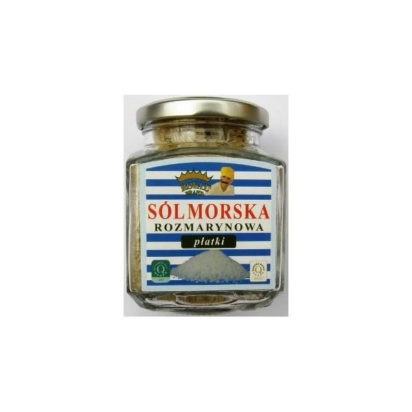 Sól morska cypryjska rozmarynowa 120 g