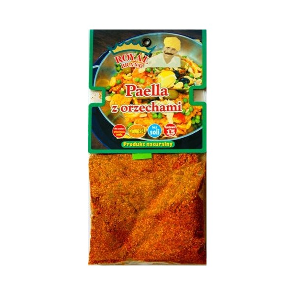 Paella z orzechami 40 g