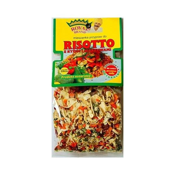 Risotto z ryżem i warzywami 50g
