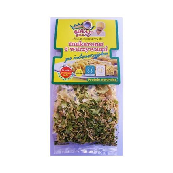 Makaron z warzywami30g