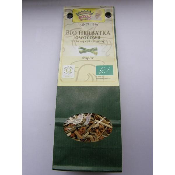 BIO HERBATA owocowa z trawą cytrynową 35 g.
