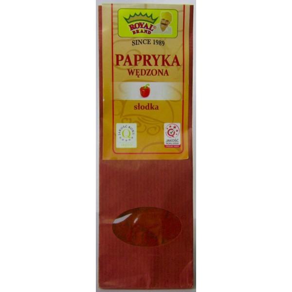 Papryka wędzona mielona, słodka 80 g.