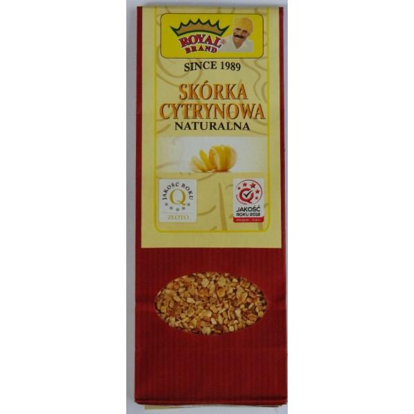 Skórka cytrynowa naturalna 50 g.