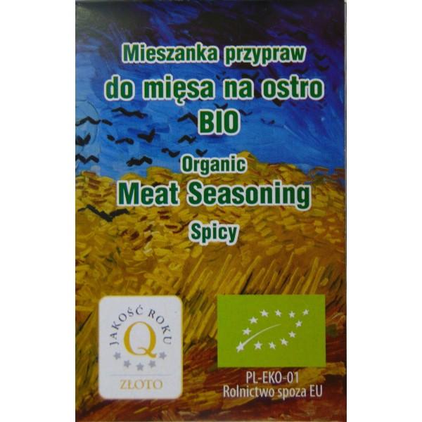 Przyprawa do mięsa ostra BIO 10 g.