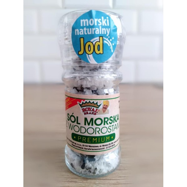 Sól morska z wodorostami (morszczyn)- młynek 40 g.