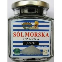 Sól morska cypryjska czarna 120 g