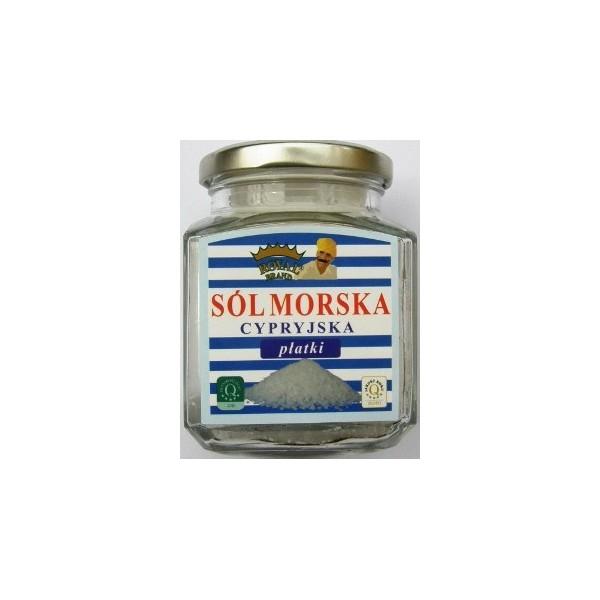 Sól morska cypryjska naturalna 120 g