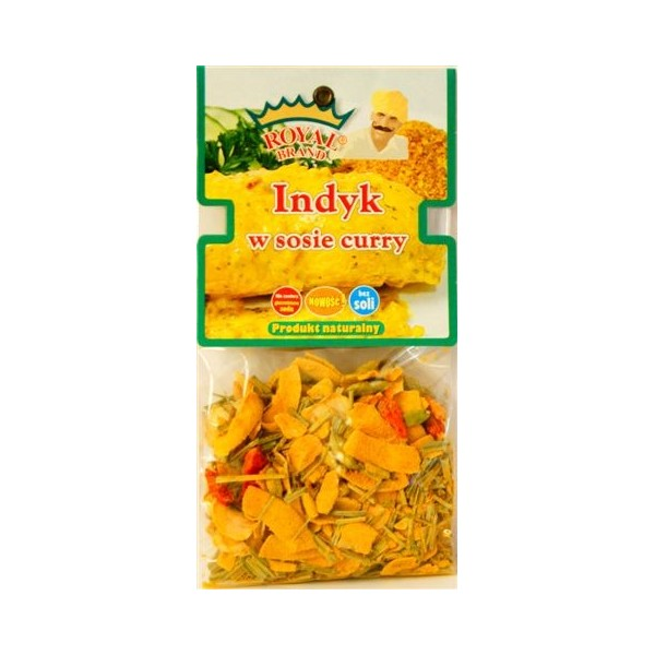 Indyk w sosie curry 50 g